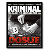 KRIMINAL - Magazin na strani zakona